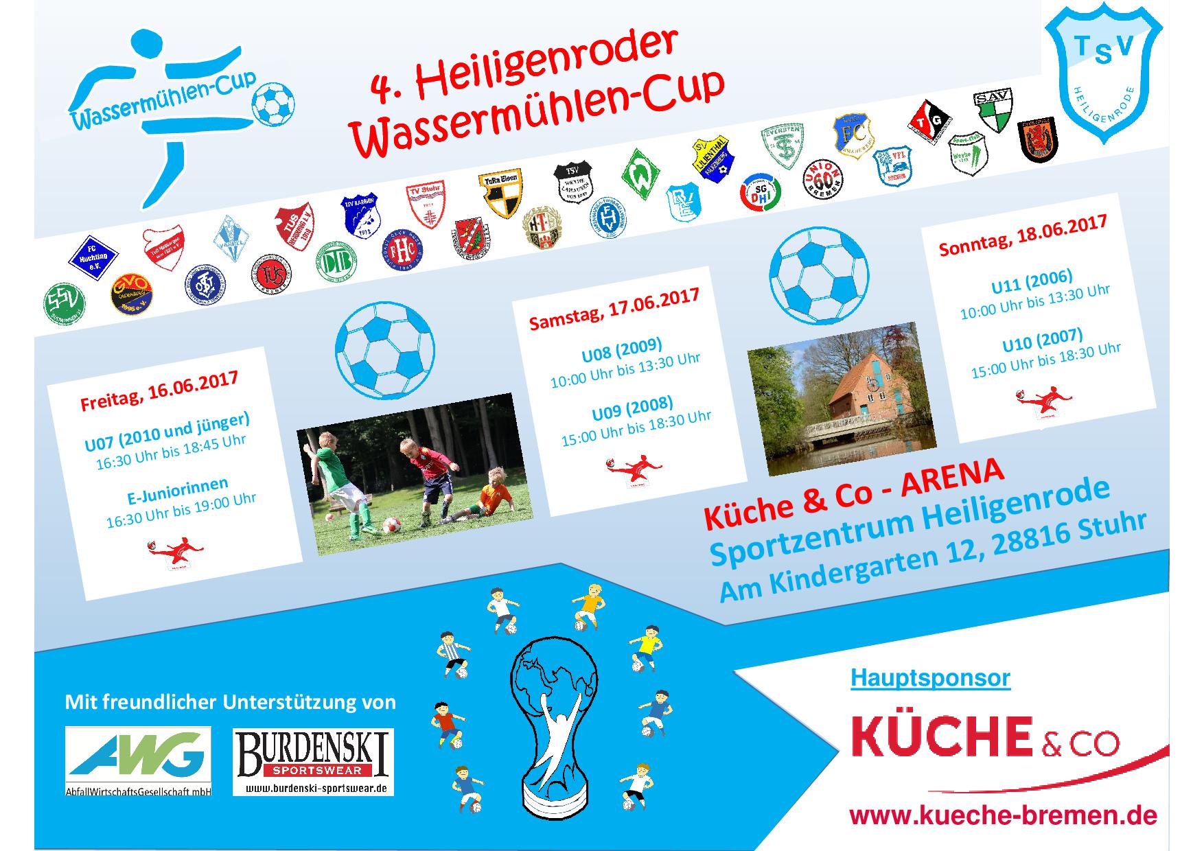 Morgen beginnt endlich der Wassermühlen-Cup! - TSV Heiligenrode von ...